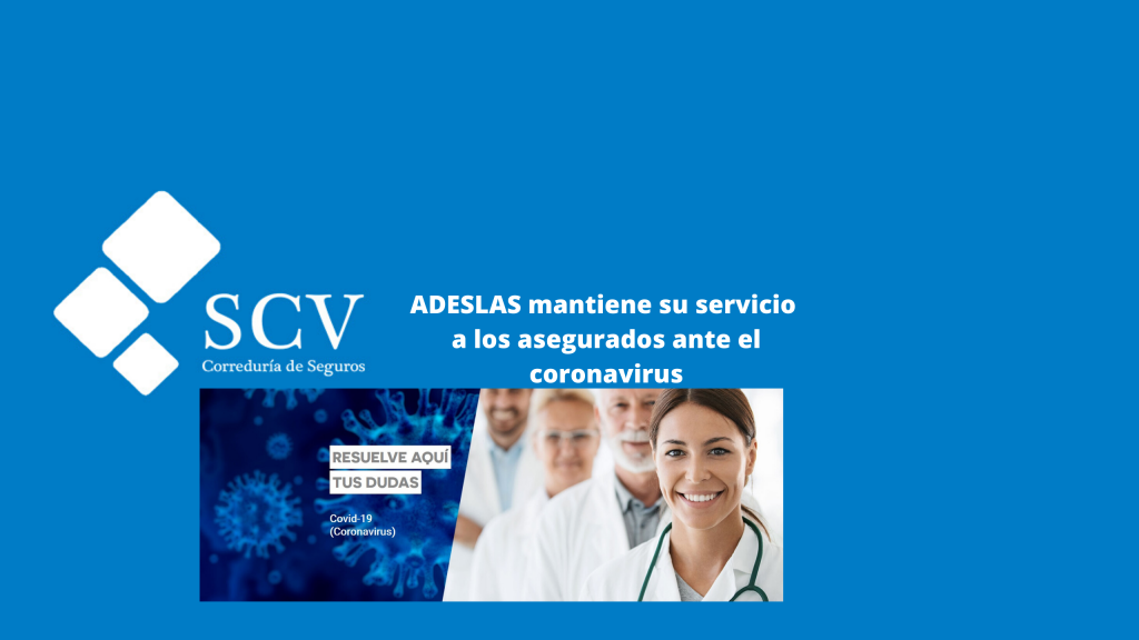 Imagen blog ADESLAS AVISO Coronavirus