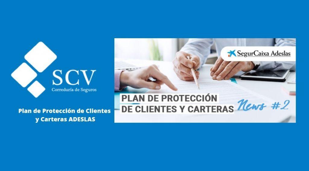 Plan de proteccion de clientes y carteras ADESLAS SCV Seguros 1105×613